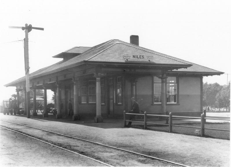 Niles Depot c. 1913
