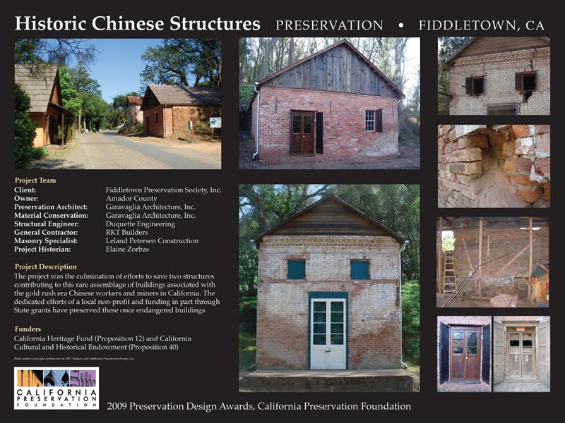 Historic Chinese Structures, Fiddletown