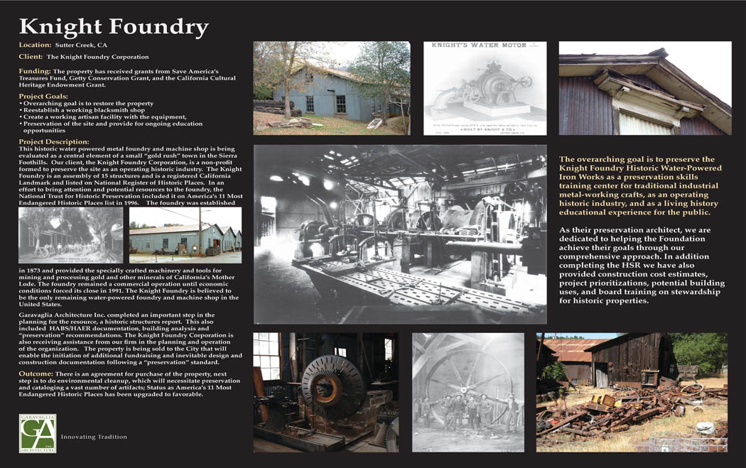 Knight Foundry Historic Structures Report