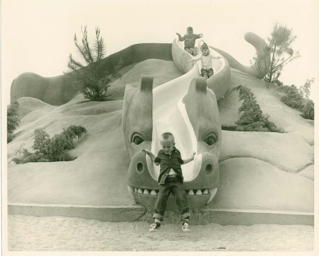 Historical Photograph of Lookout Mountain at La Laguna Park