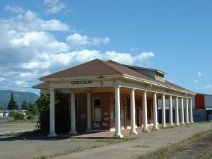 Ukiah RR Depot