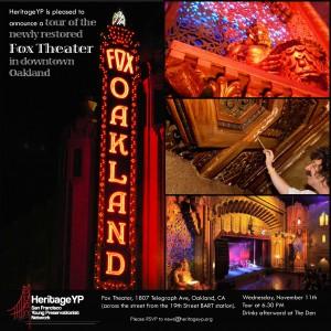 Oakland Fox Theater Tour